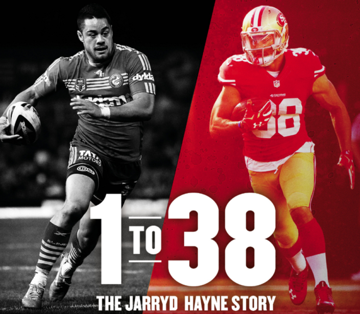 1 to 38 The Jarryd Hayne Story