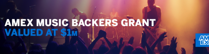 AMEX Music Backers Grant